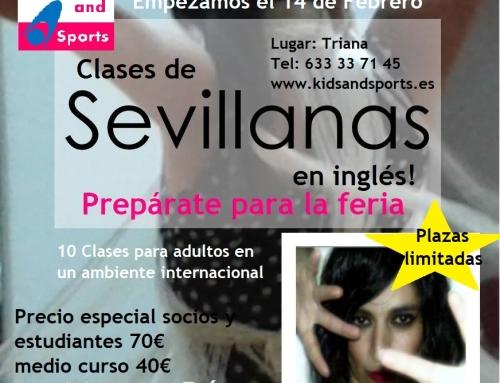 Clases de Sevillanas para adultos