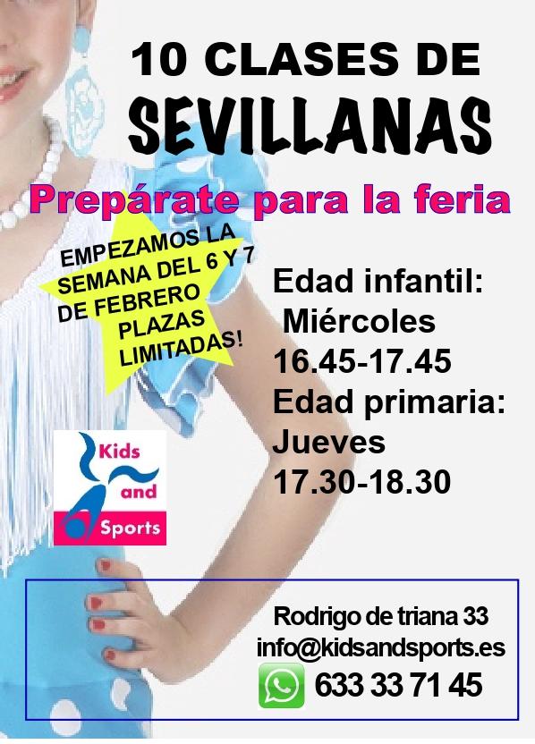 Clases de Sevillanas para niños y adultos